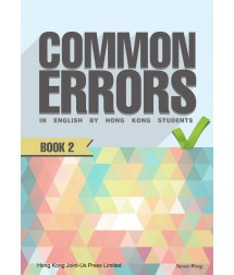 Common Errors in English by Hong Kong Students Book 2