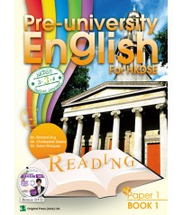 Pre-university English for HKDSE - Paper 1 Reading Book 1
